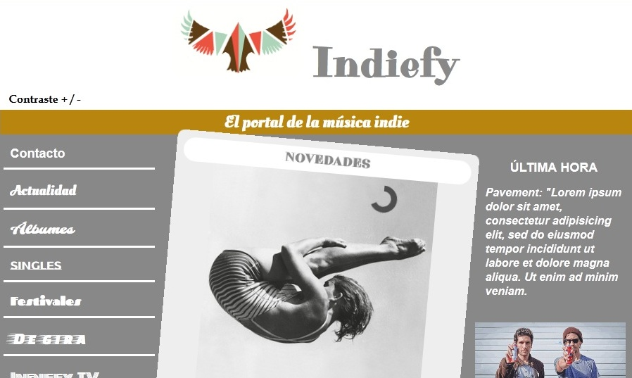 INDIEFY. El portal de la música indie